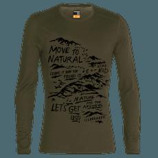 Oasis LS Crewe Travel Diaries 200 Men LODEN