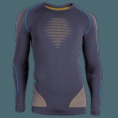 Evolutyon UW Shirt Men Charcoal/Gold/Atlantic