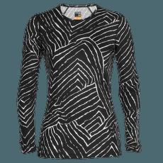 Oasis LS Crewe Tessellated Pavement 200 Women BLACK/AOP