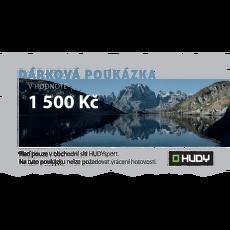 Dárková poukázka  1500 Kč