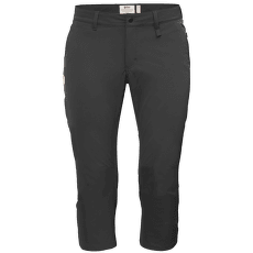 Abisko Capri Trousers Women Dark Grey 30