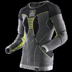 Apani Merino By X-Bionic Fastflow Shirt Men Black/Grey/Yellow
