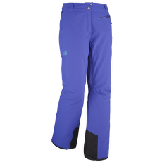 Big White Stretch Pants Women PURPLE BLUE