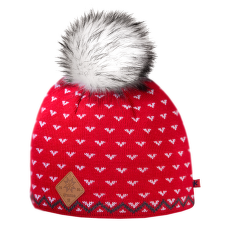 A105 Knitted Hat red