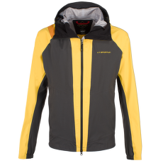 Quasar GTX Jacket Men Black/Yellow (Black Yellow)