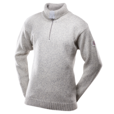 Nansen Sweater Zip Neck Men 770 GREY MELANGE