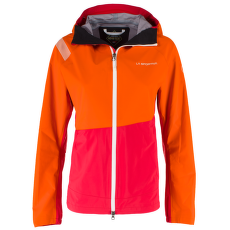 Thema Gtx Jacket Women Pumpkin/Garnet
