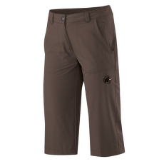 Hiking 3/4 Pants Women dark oak 7173