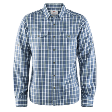 Abisko Cool Shirt LS Men Uncle Blue