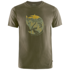 Arctic Fox T-Shirt Men Dark Olive