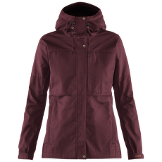 Kaipak Jacket Women Dark Garnet-Dark Grey