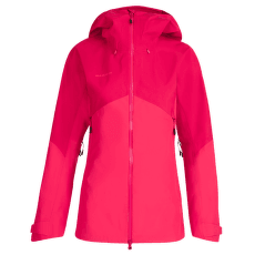 Crater HS Hooded Jacket Women dragon fruit-sundown