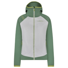 Kobik Hoody Women White/Grass Green