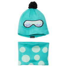 Youth Snow More™ Hat And Gaiter Set Dolphin Dots Print 356