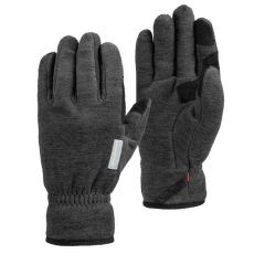 Fleece Glove black mélange 0033