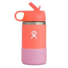KIDS WIDE STRAW LID 12 oz 650 Hibiscus