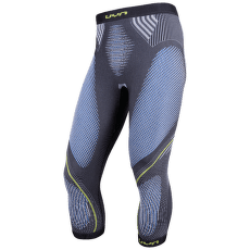 Evolutyon UW Pants Medium Melange Men Anthracite melange/Blue/Yellow Shiny