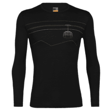 Oasis LS Crewe Peak to Peak Lift Men 200 Black