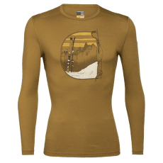 Oasis LS Crewe Mt Blanc Rise Men 200 CURRY