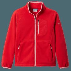 Fast Trek™ III Fleece Full Zip Kids Red Lily, Pink Orchid 658