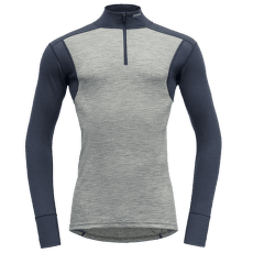 Hiking Half Zip Neck Men 770B GERAY MELANGE/NIGHT