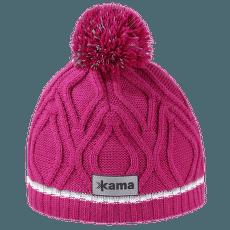 Dětská pletená Merino čepice B90 pink