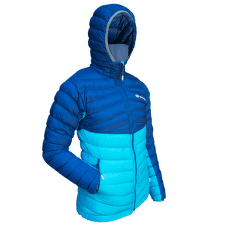 Atol Hooded Lady navy/turquoise
