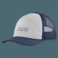 Pastel P-6 Label Layback Trucker Hat White w/Stone Blue
