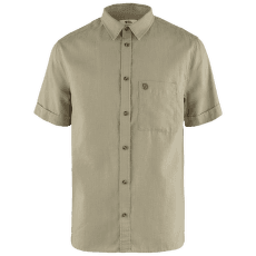 Övik Travel Shirt SS Men Sand Stone