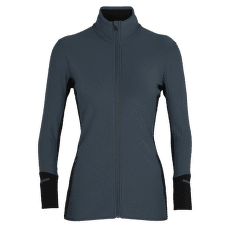Descender LS Zip Women SERENE BLUE