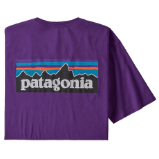 P-6 Logo Organic T-Shirt Men Purple