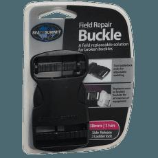 Buckle side release 38 mm Black