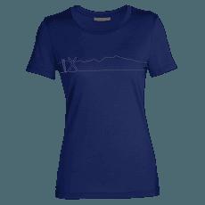 Tech Lite II SS Tee Single Line Ski Women ROYAL NAVY