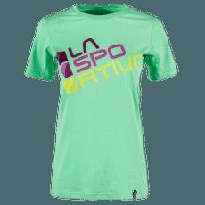 Square T-Shirt Women JADE GREEN