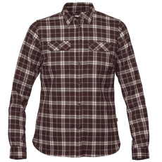 Fjällglim Stretch Shirt LS Women Dark Garnet