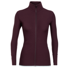 Descender LS Zip Women VELVET/DEW