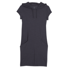 Yanni Hooded Dress Women Black001
