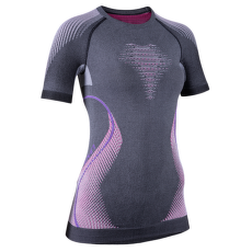 Evolutyon UW Shirt Melange Women Anthracite Melange/Raspberry/Purple