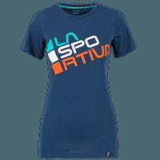 Square T-Shirt Women Opal