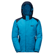 Kajak Falls Jacket Girls dark turquoise 1077