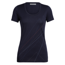 Tech Lite SS Scoop Pinnacle Women Midnight Navy IBANS_01360