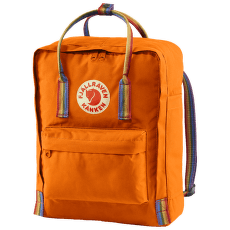 Kanken Rainbow Burnt Orange-Rainbow Pattern