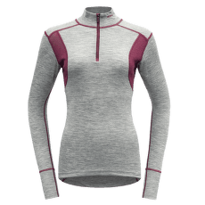 Hiking Half Zip Neck Women 770A GREY MELANGE