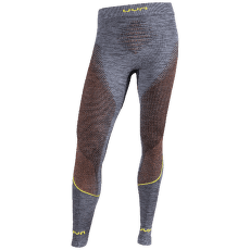 Ambityon UW Pants Long Melange Men Black Melange/Orange/Yellow