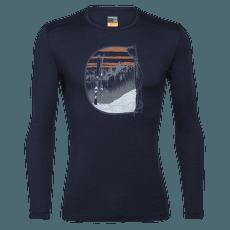 Oasis LS Crewe Mt Blanc Rise Men 200 Midnight Navy