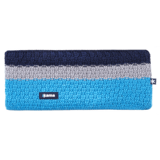 C39 - knitted headband cyan 115
