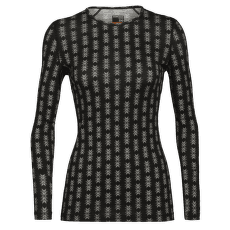 Oasis LS Crewe Snow Heritage Women 200 Black
