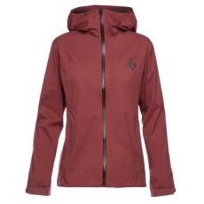 StormLine Stretch Rain Shell Women Cherrywood