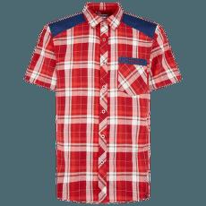 Longitude Shirt Men Chili/Poppy
