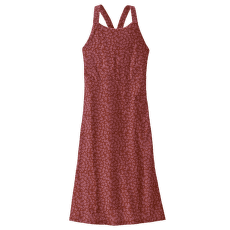 Magnolia Spring Dress Kelp Revival: Mangrove Red
